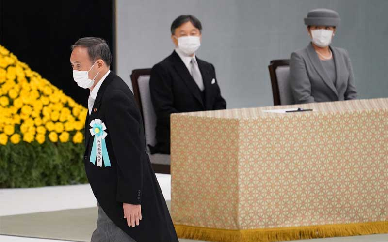 Prime Minister of Japan, Yoshihide Suga will step aside after a year in Office
