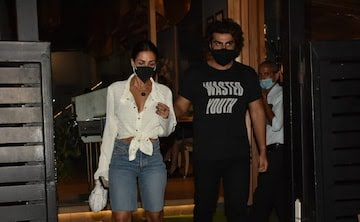 Arjun Kapoor and his lady love spotted after a dinner date