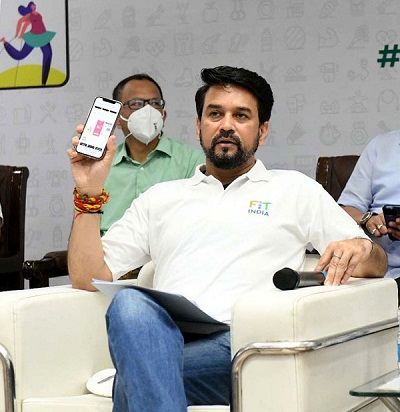 Sports Minister launches Fit India Mobile App On National Sports Day