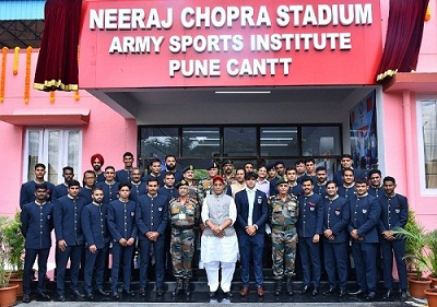 Army Sports Institute Stadium Named After Olympic Gold Medalist Neeraj Chopra