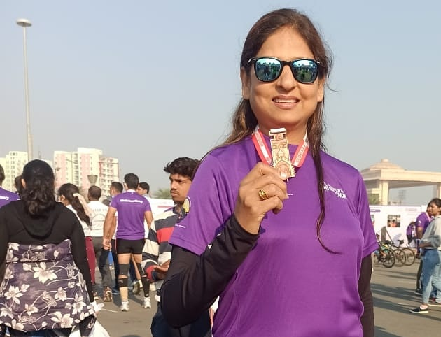 With Grit And Perseverance, Lucknow Runner Anamika Fights Major Illness Through Running