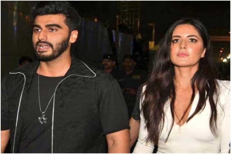 Arjun Kapoor to model for Katrina's beauty label – Kay by Katrina?