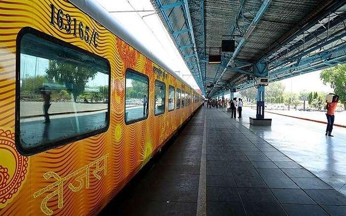 Tejas SMART Coach - India Railways Introduces Tejas Smart coaches