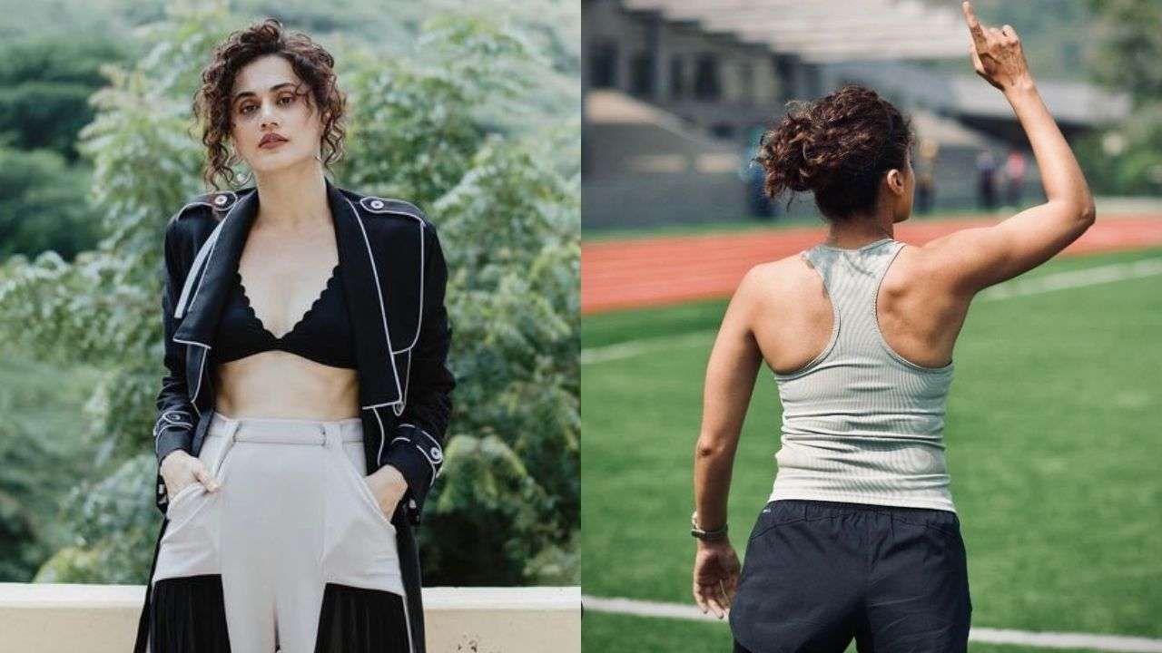 A tweet on Taapsee Pannu regarding her body and she takes it as a compliment