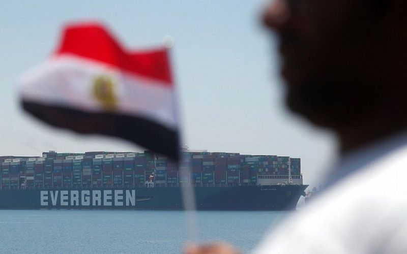 Ever Given: After deal is made, ship blocking the Suez Canal departing waterway