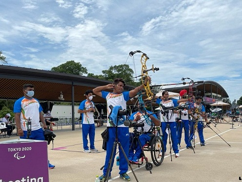 Shooters And Archers AimTo Redeem India's image In Paralympics