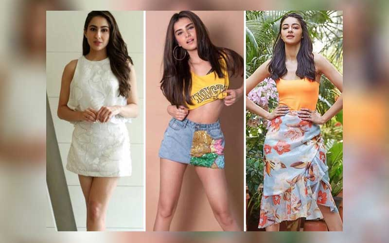 Sara Ali Khan, Ananya Panday and Tara Sutaria reveal their favourite home workouts for a fitness app