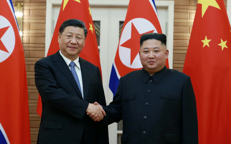North Korea, China pledged to strengthen relations