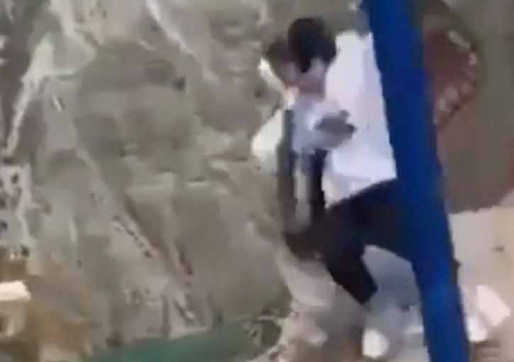 Two women fall off a swing on the edge of 6000-ft cliff; survived