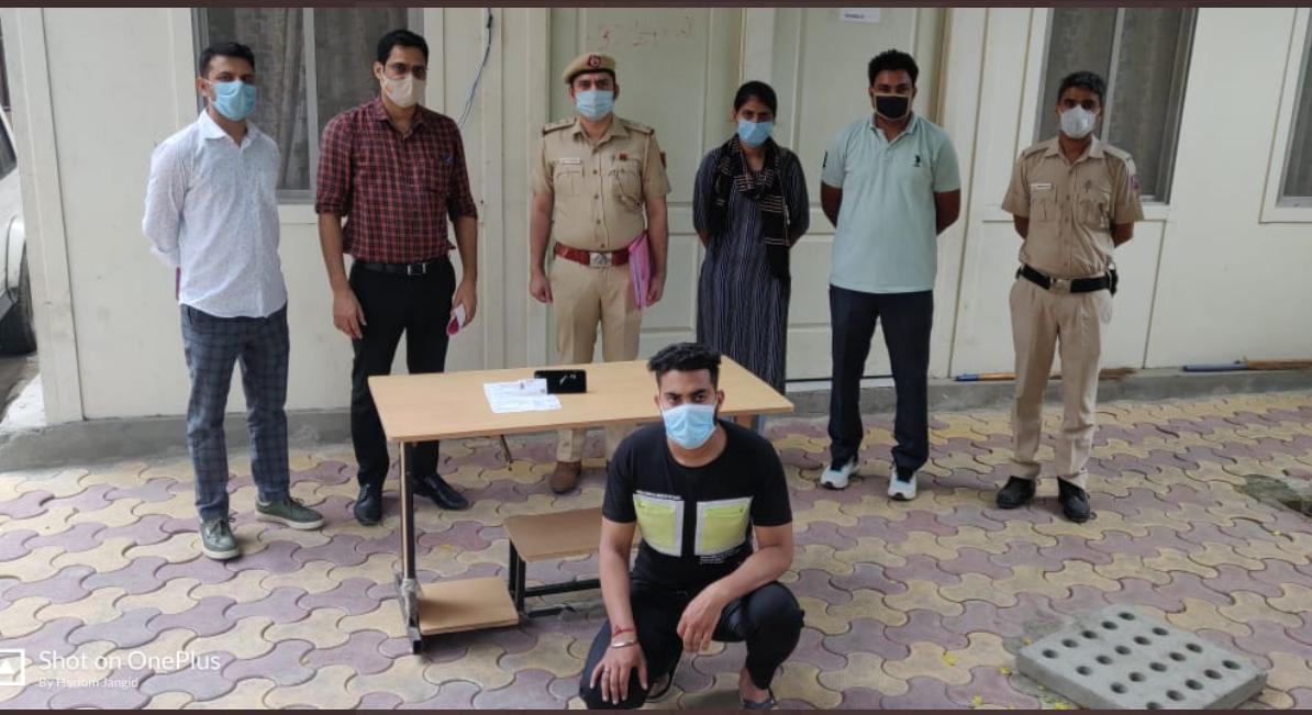 In Delhi, a gym trainer was arrested for stalking over 100 women online