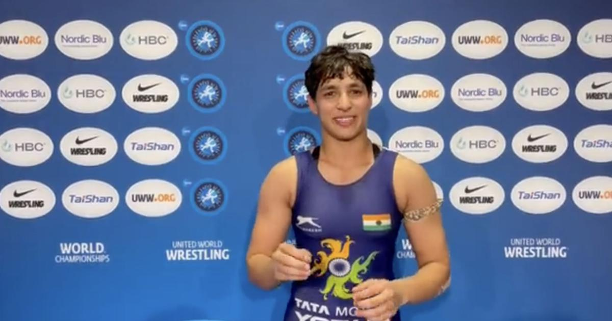 Anshu Malik- First woman wrestler to reach World Championship final