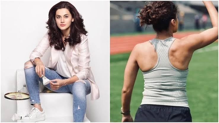 Taapsee Pannu said no to steroids to get a natural body