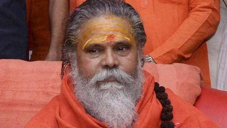 Mahant Narendra Giri, president of Akhil Bharatiya Akhara Parishad recorded a video before his death on Monday